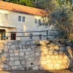 Teilansicht der Klostermauer | Деталь монастырской стены