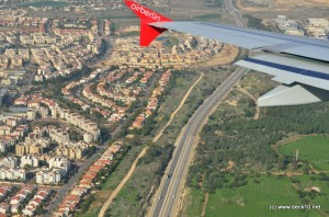 Anflug auf Tel Aviv | Под крылом - Тель Авив