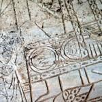 Detail Steintafel | Деталь орнамета на каменной плите