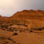Blick auf dem Berg Mitzpe Ein Gedi | Вид на гору Мицпе Айн Геди