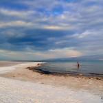Salzstrand am Toten Meer | Соляной пляж