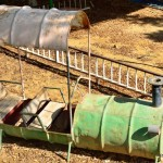 Kinderspielplatz in Kibbuz En Gedi   На детской площадке кибуца Айн Геди