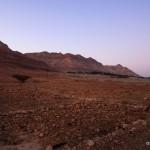 Abendlandschaft am Toten Meer   Вечерний ландшафт пустыни Мертвого моря