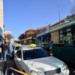 Vorplatz des Busbahnhofes in Jerusalem | Привокзальная площадь