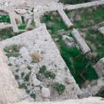 Ausgrabungsstätte in Jerusalem | Раскопки рядом с городской стеной