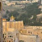 Blick über die Stadtmauer | Вид со стены старого города