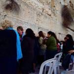 Frauen an der Klagemauer   Женщины у Стены плача