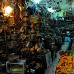 Laden im arabischen Viertel von Jerusalem   Лавка в арабском квартале Иерусалима