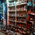 Laden in einer Altstadtgasse von Jerusalem   Лавка в Старом Городе