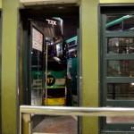 Busbahnhof von Jerusalem   Автовокзал, выход к автобусам