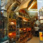 Laden in einer Altstadtgasse von Jerusalem | Лавки Старого Города