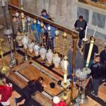 Salbungsstein | Вход в Храм Гроба Господня