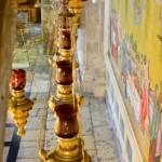 Leuchten in der Grabeskirche | Вход в Храм Гроба Господня
