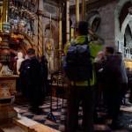 Kapelle mit dem Heiligen Grab | У входа в Кувуклию