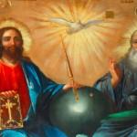 Deckendetail | деталь фрески свода