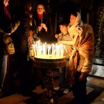 Gläubige in der Grabeskirche | Паломники