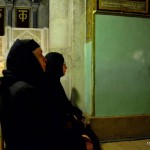 Gläubige in der Grabeskirche | Паломники в Храме