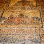 Bodenmosaik | Мозаичный пол в нижней часть Храма