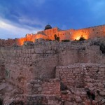 Blick auf die Tempelberg | Вид на Храмовую гору