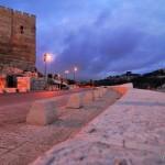 Teilblick auf die Altstadt von Jerusalem | Часть стены Старого Города