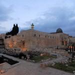 Blick auf die Altstadt von Jerusalem | Часть стены Старого Города