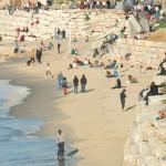 Strand bei Jaffa   Пляж рядом с Яффо