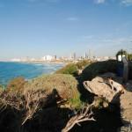 Blick auf Tel Aviv vom Ha Midron Garten | Вид на Тель Авив из парка Ха Мидрон