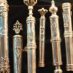 Mesusa - jemenitische Arbeit aus Silber | Мезуза - йеменская работа по серебру