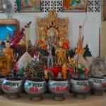 В храме Дхаммикарама | In der Dhammikarama Burmese Buddhist Tempel