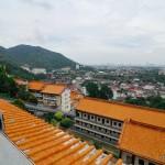 Вид на Пенанг с горы Air Itam | Penang vom Berg Air Itam aus gesehen