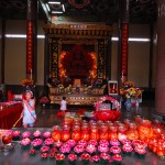 В храме Kek-Lok-Si |  Im  Kek-Lok-Si Tempel
