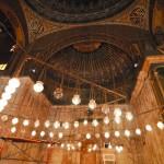 В молельном зале мечети Мухаммада Али | In der Gebetshalle der Muhammed Ali Moschee