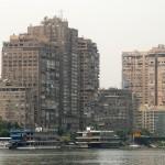 Каир, вид с Нила | Blick auf Kairo von der Nilseite