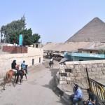 По пути к пирамидам | Auf dem Weg zu den Pyramiden