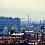 Die Türme der Nikolaus-Marine-Kathedrale | Regjkf Никольского морского собора