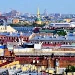 Über den Dächern von Sankt Petersburg | Крыши Санкт-Петербурга