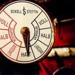 """Maschinenraum des Dampfschleppers """"Woltman"""""""
